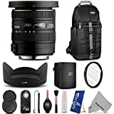 Sigma 10-20mm f/3.5 EX DC HSM ELD SLD Wide-Angle Lens for NIKON DSLR Cameras w/ Essential Photo and Travel Bundle