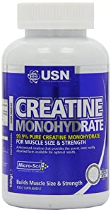USN Creatine Monohydrate Size and Strength Powder - 100 g