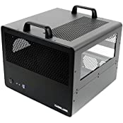 CaseLabs Bullet BH7 ATX Case With Handles And Dual Windows, Gunmetal