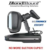 BlendMount Your Beltronics / Escort Radar Detector. High Quality Custom Mount