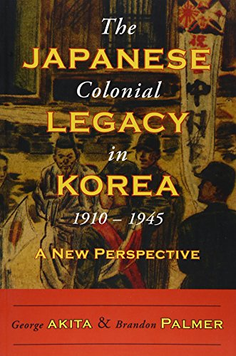 a description of the japanese colonial legacy in korea
