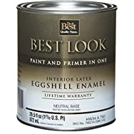 Best Look Interior Latex Eggshell Paint And Primer In One Enamel-INT EGG NEUTRAL