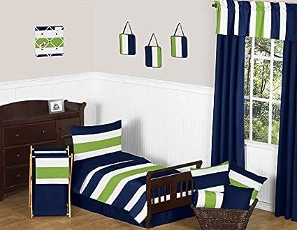 Green Boys Bedding And Lime Green Stripe Boys