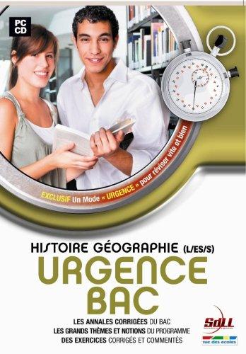 Urgence : Bac histoire / géographie L. S. ES 2007.