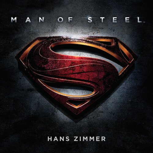 Original album cover of Man of Steel: Original Motion Picture Soundtrack by Hans Zimmer