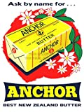 ADVERTISEMENT FOOD KITCHEN ANCHOR BUTTER 30X40 CMS FINE ART PRINT ART POSTER BB7264