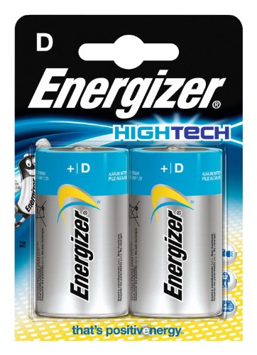 Energizer - 632870 - 2 LR20 High Tech - 1,5 V