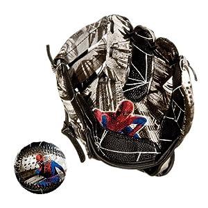 Franklin Sports ranklin Sports Marvel Spider-Man AIR TECH Baseball Glove and Ball Set