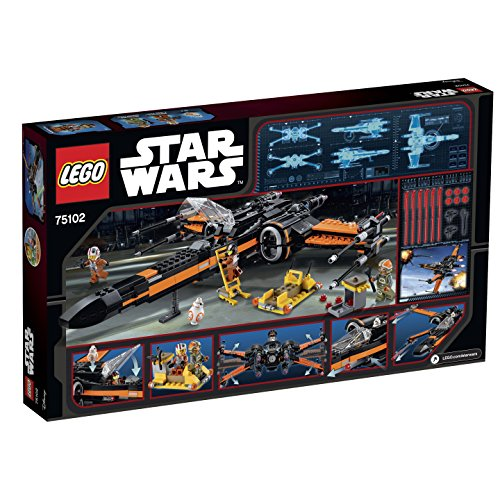 2015 LEGO Star Wars Poe's X-Wing Fighter 75102 by LEGO