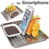 各種 スマートフォン 対応 食品サンプル スマホ スタンド / 串カツ盛り合わせ