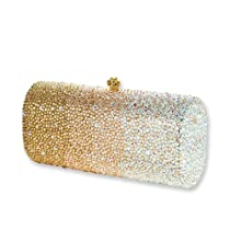 Big Sale Glitter Swarovski Crystal Clutch Bag