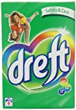 Dreft Fibre Care for Delicates Laundry Detergent Powder 9 Washes 792 g (Pack of 12)