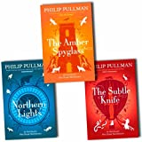 Image of Philip Pullman His dark materials Trilogy 3 books Set Pack RRP 21.97 ( The Golden Compass, The Subtle Knife, The Amber Spyglass)(Philip Pullman Collection)