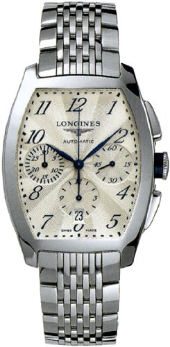 Longines Evidenza Automatic Chronograph Silver Dial Stainless Steel Mens Watch L2.643.4.73.6