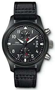 IWC Pilot Top Gun Edition Black Dial Automatic Mens Watch IW388001