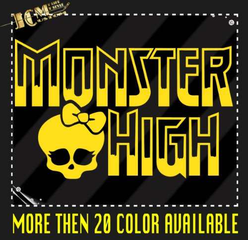 Monster High Vinyl Decal Sticker / 14
