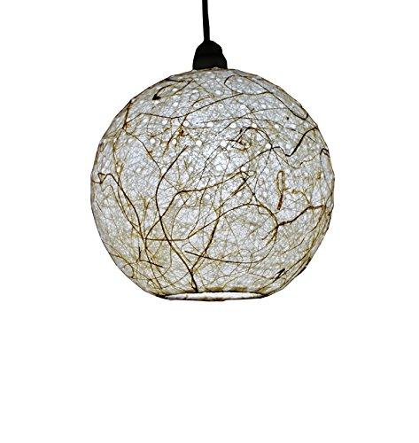 Salebrations Hanging Ball Lamp Shades Yarn With Holes And Banana Fiber