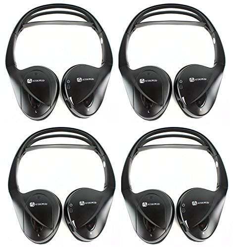 4) Audiovox Ir2Cff Fold Flat Dual-Channel Wireless Infrared Stereo Headphones