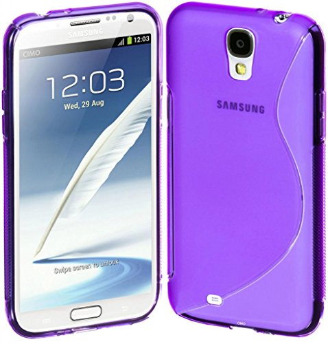 Style Icon Samsung Glaxay S4 Blue Silicone Gel S Line Grip Case Cover For Samsung Glaxay S4 By G4GADGET®