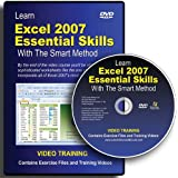 Learn Excel 2007 Essential Skills with the Smart Method: DVD-ROM Video Courseby Mike Smart