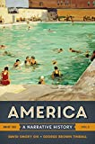 img - for America: A Narrative History (Brief Tenth Edition) (Vol. 2) book / textbook / text book