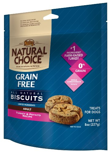 Natural Choice Dog All Natural Grain Free Biscuits