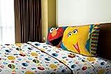 Sesame Street Big Chalk Fun Twin Sheet Set Including: 1 Flat Sheet, 1 Fitted Sheet and 1 Pillow Case