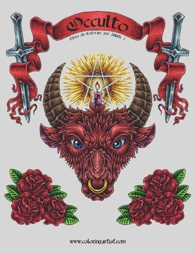 Occulto Libro da Colorare per Adulti 1: Volume 1