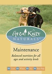 Great River Naturals Maintenance Pet Food, 1.5-Pound