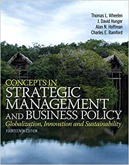 Concepts In Strategic Management And Business Policy Plus 2014 MyManagementLab With Pearson EText -- Access Card Package (14th Edition)