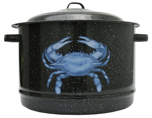 Granite Ware 6193-4 Decorated Crab Pot, 19-Quart (Induction Crab Pot compare prices)
