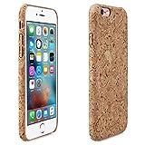 Alienwork Schutzhülle für iPhone 6/6s massive Naturholz