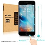 [Newest Innovative Rewarding] Aerb Smart IPhone 6S Plus Tempered Glass Screen Protector W Smart [Return Key] &...