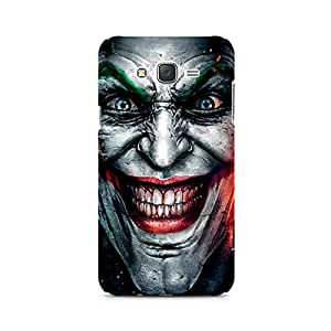 Motivatebox-Injustice Face Samsung Galaxy J2 2016 edition cover -Matte Polycarbonate 3D Hard case Mobile Cell Phone Protective BACK CASE COVER. Hard Shockproof Scratch-Proof Accessories