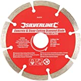 Silverline 394979 Concrete and Stone Cutting Diamond Blade 115 x 22.2 mm