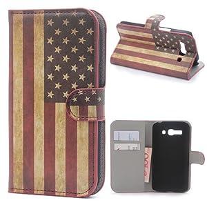 Funda Flip Case Cover Premium Standing Leather Funda Para Alcatel One Touch Pop C9 A01 en BebeHogar.com