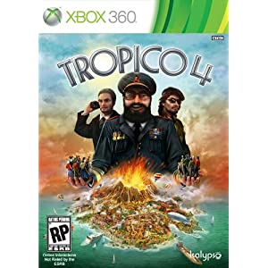 Tropico 4 Video Game for Xbox 360