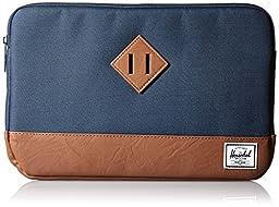 Herschel Supply Co. Heritage Sleeve for 11 Inch Macbook, Navy, One Size