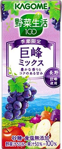 カゴメ 野菜生活100 巨峰ミックス 200ml×24本