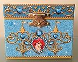Disney Parks Exclusive Ariel Little Mermaid Musical Jewelry Box