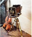Vintage 1904 Kodak Retro Iron Tripod Stand Camera Props Movie Photography Model
