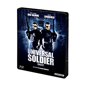 Universal Soldier/Uncut Steel Edition [Blu-ray] [Import allemand]