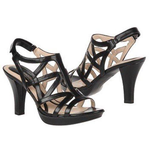 Naturalizer Women's Danya Dress Sandal,Black,9