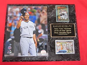 Mariano Rivera New York Yankees 2 Card Collector Plaque w All Star Game MVP 8x10... by J & C Baseball Clubhouse