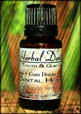 Herbal Dentist Tooth & Gum Oil - #1 Treatment for Gum Disease, Periodontal Disease, Gingivitis, Bleeding Gums, Receding Gums, Toothache, Oral Pain, Abscessed Tooth, Bad Breath, Sensitive Teeth, Essential Oils