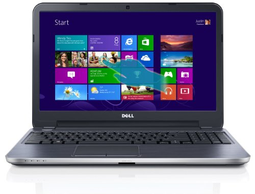 Dell Inspiron 15R I15Rmt-17293Slv 15.6-Inch Touchscreen Laptop (Intel Core I7-3537U,8Gb Memory,1Tb Hdd, 2Gb Amd Radeon Hd 8730M Graphics, Cd/Dvd Burner) Moon Silver