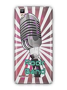 YuBingo Rock Band Mobile Case Back Cover for Oppo F1 Plus