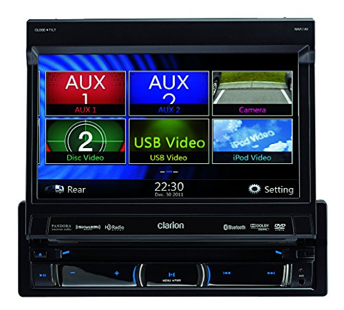 Clarion NX702 Built-In Car Navigation System (Discontinued by Manufacturer)