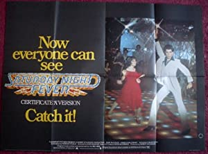 Collectible Saturday Night Fever: 'A' Certificate Quad Film Poster