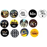 Set of 17 NEW Beatles One Inch Buttons / Pins